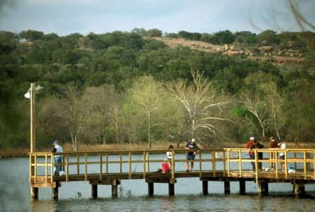Inks Lake SP Fishing Pier