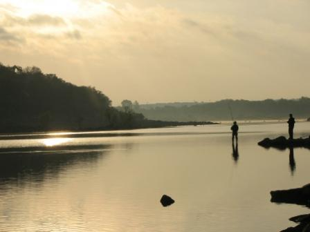 'Morning Fishing', photo by Tracey Becker