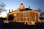Lighted Courthouse
