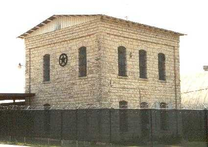 Historic County Jail in Johnson City