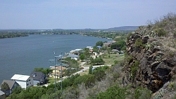 Scenic Overlook on RR-1431 - Lake LBJ Looking Northwest