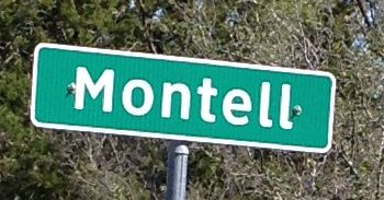 Montell Highway Sign
