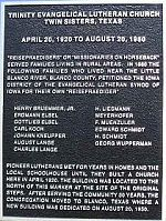 Lutheran Church Marker