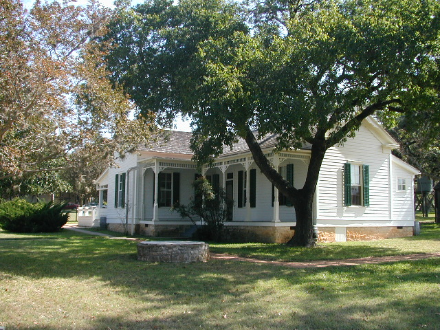 LBJ Boyhood Home in Johnson City